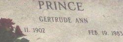 Gertrude Ann Prince