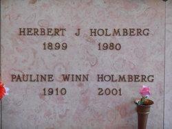 Pauline <I>Winn</I> Holmberg
