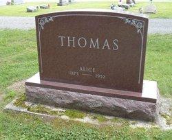 Alice <I>Rhoads</I> Thomas