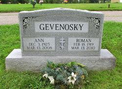 Ann <I>Moskal</I> Gevenosky