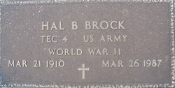 Hal B. Brock