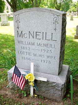 Lottie M McNeill