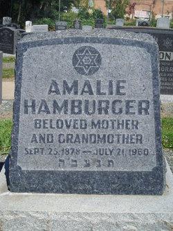 Amalie Hamburger