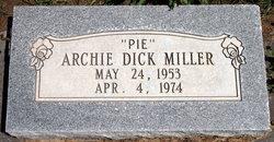 "Archie Dick ""Pie"" Miller"