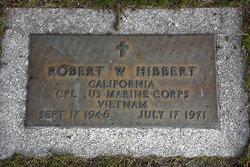 Robert W. Hibbert