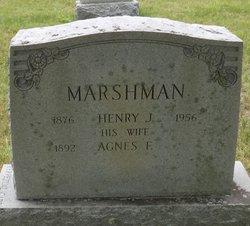 Agnes F Marshman