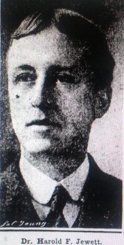 Dr Harold Flagg Jewett