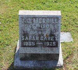 Sarah Jane <I>Carey</I> Merrill