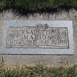 Bernadette A. Marion