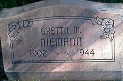 Gretta Marie <I>Horne</I> Niemann