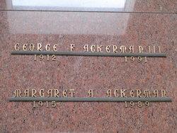 George F. Ackerman