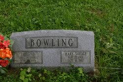 Mary <I>Savage</I> Bowling