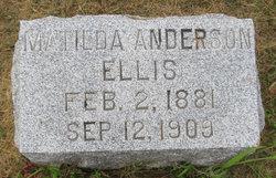 Matilda <I>Anderson</I> Ellis