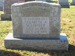 Elizabeth A Schaffer