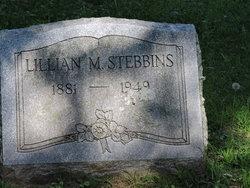 Lillian M Stebbins