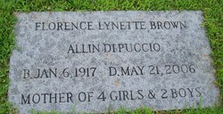Florence Lynette <I>Brown</I> DiPuccio