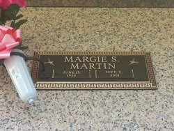 Margie <I>Segars</I> Martin