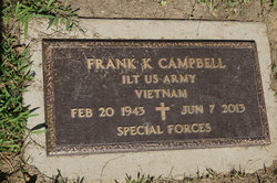 Frank K Campbell