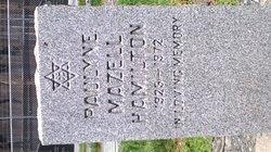 Paulyne Phyllis <I>Mazell</I> Hamilton
