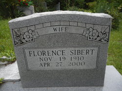Florence <I>Lewis</I> Sibert