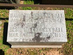 David Washburn Ball
