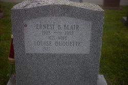 Louise E. <I>Duquette</I> Blair