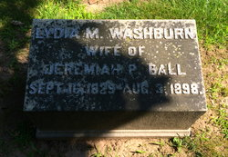 Lydia M <I>Washburn</I> Ball