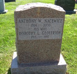 Dorothy L <I>Geoffrion</I> Nacewicz