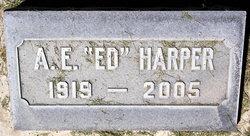 """A. E. """"Ed"""" Harper"""