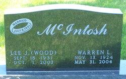 "Leila J. ""Lee"" <I>Wood</I> McIntosh"