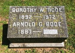Dorothy W <I>Ball</I> Bode