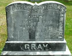 Mary A <I>Bonsey</I> Gray