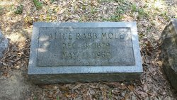 Alice <I>Rabb</I> Mole