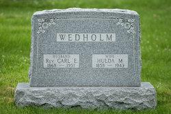 Hulda M. <I>Lindstrom</I> Wedholm