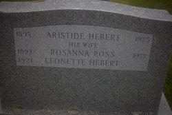 Rosanna <I>Ross</I> Hebert