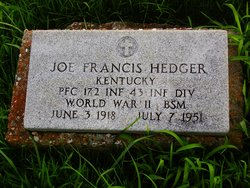 Joe Francis Hedger