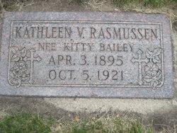 """Kathleen V """"Kitty"""" <I>Rasmussen</I> Bailey"""