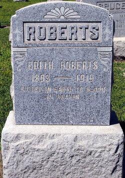 Edith <I>Snow</I> Roberts