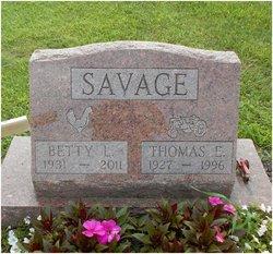 Thomas E Savage