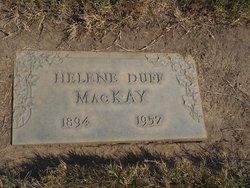 Helene <I>Duff</I> MacKay