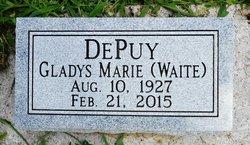 Gladys Marie <I>Waite</I> DePuy