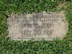 Jessie <I>McAnally</I> Reynolds