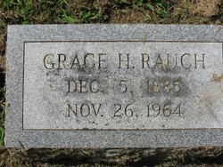 Grace H <I>Heinzelmann</I> Rauch