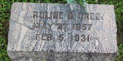Caroline D. <I>Waller</I> Green