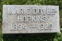 Mary <I>Doyle</I> Hopkins