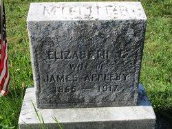 Elizabeth E Appleby