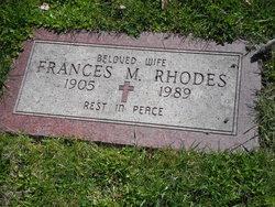 Frances M. Rhodes