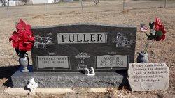 """Mack Henry """"Buddy"""" Fuller"""