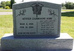 Atiyeh Zahrooni Sobi