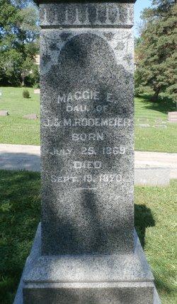 Maggie E Rodemeier